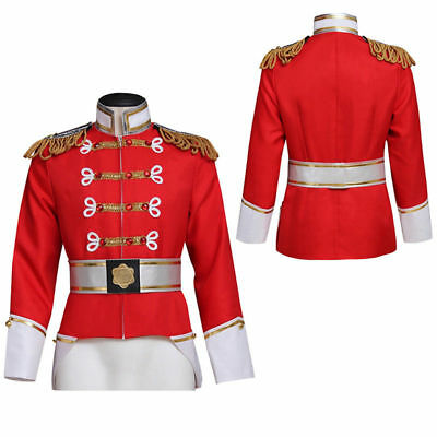 Hot!Barbie in the Nutcracker King Eric Uniform Cosplay Costume Halloween Cos