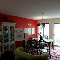 locally owned reliable- and trusted interior painting service