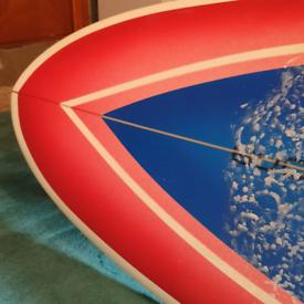 "Circle One 7""3 surf board"