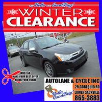 WINTER CLEARANCE ~ 2010 Ford Focus SE ~ say HELLO to a GOODBUY! Bedford Halifax Preview