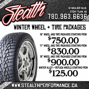 Winter tires and wheels on sale! Spruce Grove/Stony Plain