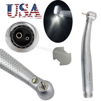 1x Led High Speed Handpiece Dental Push Button E-generator Standard 2h