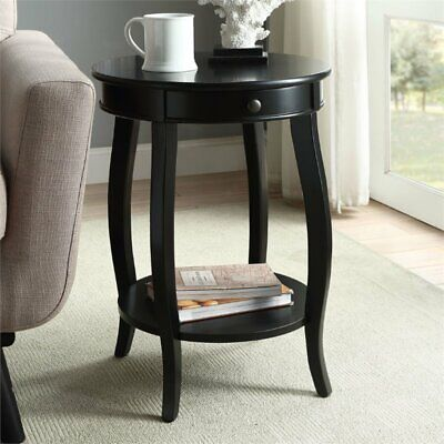 ACME Alysa End Table in Black