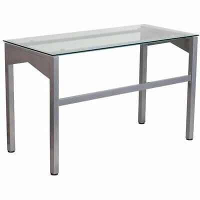 Scranton & Co Glass Top Writing Desk in (Scranton Glass)