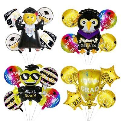 5pcs Graduation Party Decoration Ceremony Decor Inflatable Toys Foil - Graduation Ceremony Decorations