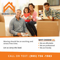 Are you moving?  Moving Brothers Niagara - Let us carry the load