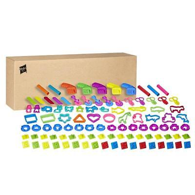 PLAY DOH 100PC ASSORTED TOOLS VALUE SCHOOL PACK OFFICIAL HASBRO