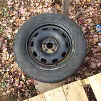 Vw tires and rims 5 x 100