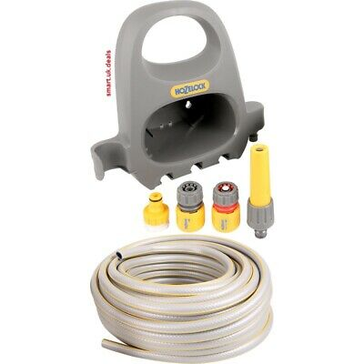 Hozelock Hose Hanger Starter Set 20m Garden Water Plants Reels Trolleys Sprayer