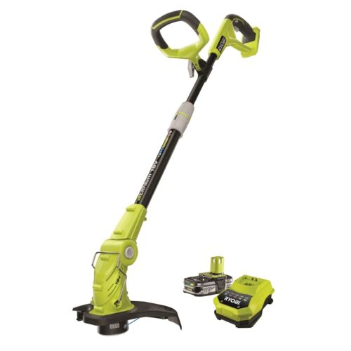 ryobi one 18v 1 5ah li ion cordless line trimmer kit ebay. Black Bedroom Furniture Sets. Home Design Ideas
