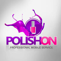 POLISH ON professional nail technician