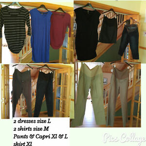 Lot of maternity clothes great condition