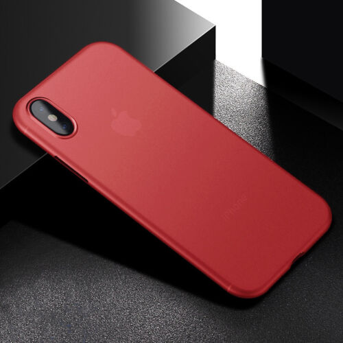 For iPhone X / XR / XS Max 7 8 Transparent Matte Shockproof Case Cover Protector