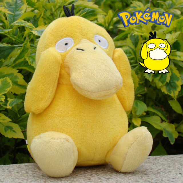 "6"" High Pokemon Psyduck Soft Plush Stuffed Doll Figure Kids Toy Japan Anime **"
