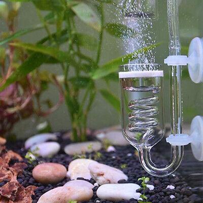 Glass Aquarium CO2 Fish Tank Diffuser Bubble Counter CO2 Atomizer (Co2 Tanks Regulators)