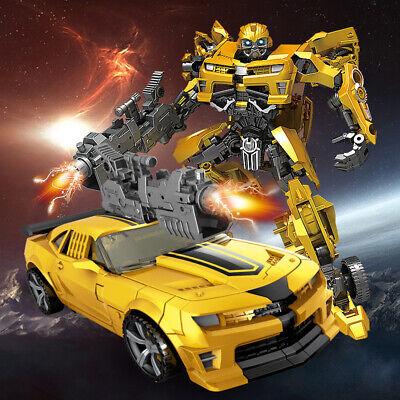 Kinder Neu Transformers Bumblebee Roboter Flim Figur Auto Actionsfigur Spielzeug