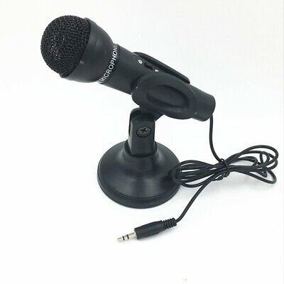 Professional Studio Wired Microphone With Stand For Skype De
