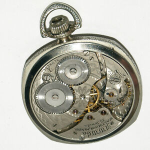 Waltham Pocket Watch - Size 12 With 15 Jewels West Island Greater Montréal image 4