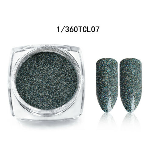 Chameleon Nail Flakes Powder Glitter Sequins Paillette Laser Nails Tips Manicure