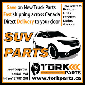 SUV Replacement Parts - NEW - Great Prices!
