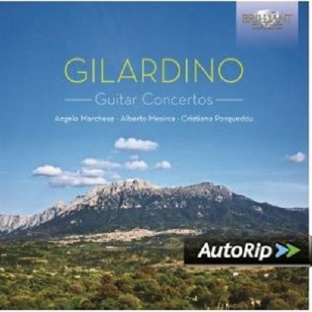 MARCHESE/MESIRCA/PORQUEDDU - GUITAR CONCERTOS  CD NEU GILARDINO,ANGELO