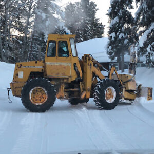 LOADER & SNOW BLOWER & BUCKET FOR SALE