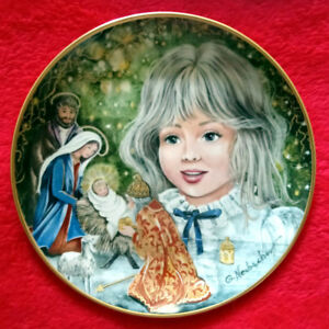 "Kaiser ""Christmas Eve"" Collector Plate"