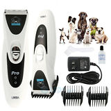Pet Grooming Trimmer Animal Hair Professional Cordless Dog Cat Electric Clipper