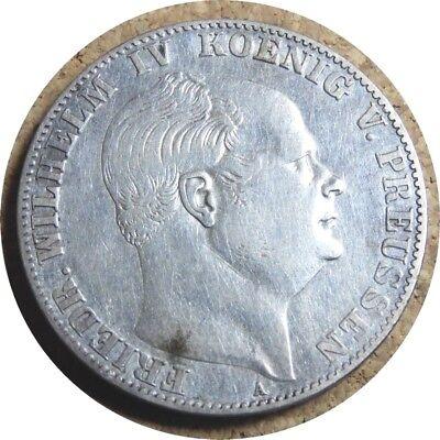 elf Germany Prussia 1 Thaler 1860 A