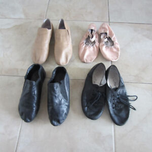 Ballet,Jazz shoes and tights.