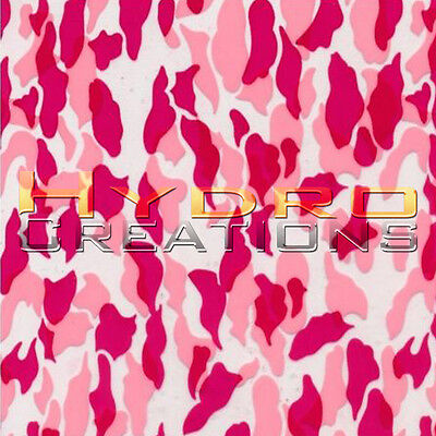 Hydrographic Film For Hydro Dipping Water Transfer Film Pink Camo - 19 X 38.5