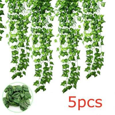 5X Artificial Ivy Garland Leaves Trailing Vine Fake Plants Wedding Party Decor