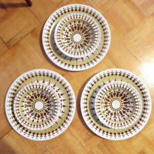 6-Piece Vintage Wood & Sons 'Toledo' Dish Set