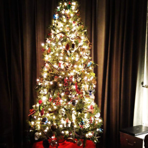 7ft Scotsdale Pine Christmas tree