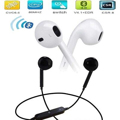 Bluetooth Wireless Headset Stereo Sport Headphone Earphone for iPhone Samsung LG