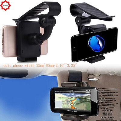 Universal Car Sun Visor Phone Clip Holder Mount Stand For Mo