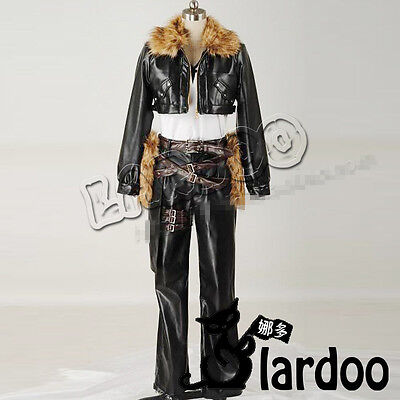 FF Final Fantasy VIII 8 Squall Leonhart Cosplay costume Kostüm Anzug (Squall Cosplay Kostüm)