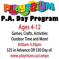 PA Day Camps – SUMMER CAMP - Camps all year Long- $25/day