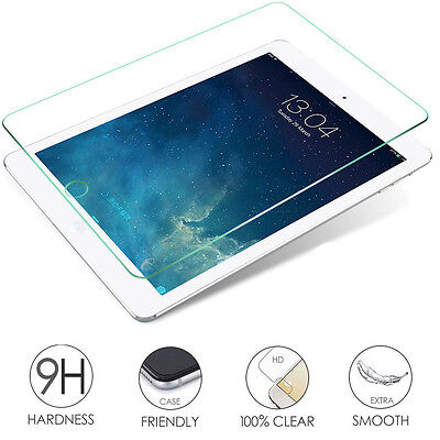 9H Premium Tempered Glass Screen Protector Guard Film For Apple iPad Series lot