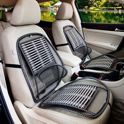 Summer Seat Cushion (Summer Cool Car Seat Cover Lumbar Support Auto Vehicle Bamboo Seat Cushion Pads)