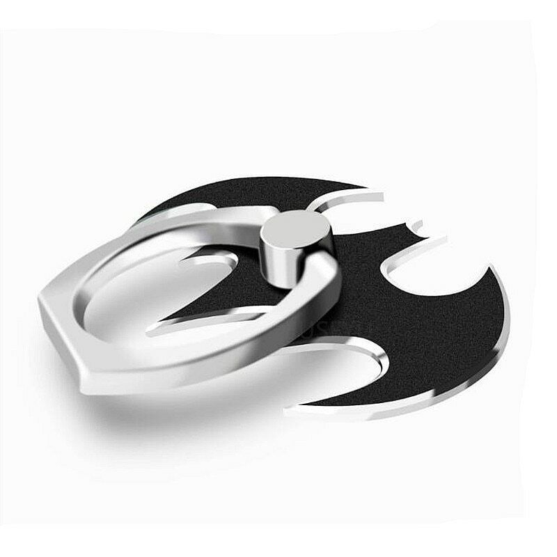 Phone Ring Holder Batman Black Mobile Phone Stand and Mount