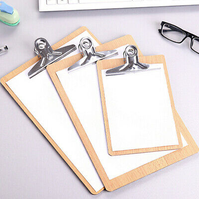 Wooden Clipboard Wood Writing Pad Document Practical Prevalent File Folders Hot