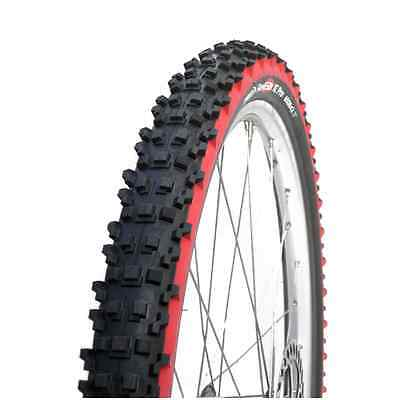 "IRD Fire XC Pro Mountain Bike Folding Tire Black Red 650B 27.5"" x 2.1"" Panaracer"