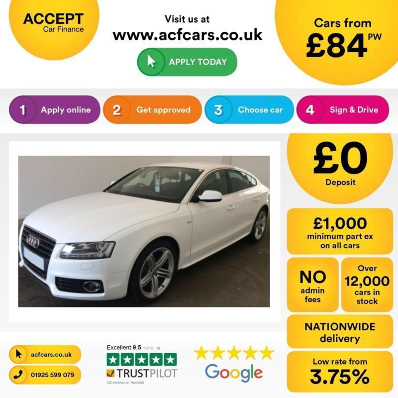 Audi A5 FROM £84 PER WEEK!