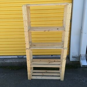 Spruce Garden or Storage Shelving Unit for SALe