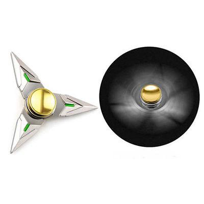 Tri Fidget Hand Spinner OW Darts Metal Bearing Cosplay Genji Shuriken Ninja Toys