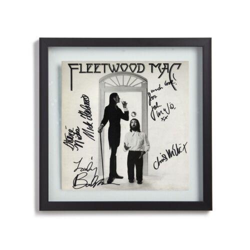 "FLEETWOOD MAC Signed By All 5 Bands Members 1975 ""Fleetwood Mac"" Album LP Print"