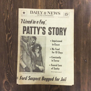 Daily News 1975-patty's Story + Muhammad Ali on the back !