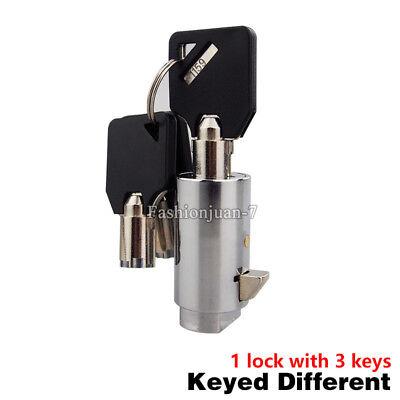 New 10pcs Universal Replacement Plug Lock For Snacksoda Vending Machine W Keys