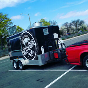 Food trailer for sale - good start in the food truck business!